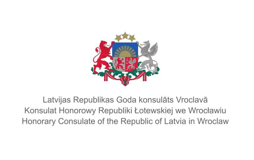 Patronat honorowy Konsulatu Honorowego Łotwy we Wrocławiu